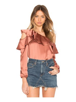 krisa Stella Satin Top
