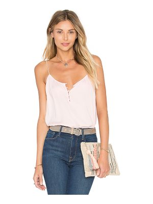 L'Academie The Button Cami Blouse