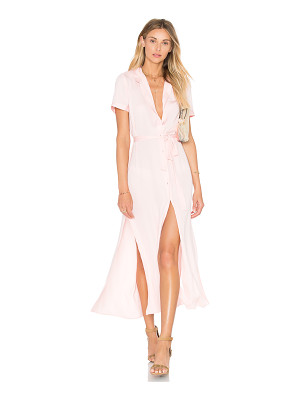 L'Academie The Maxi Shirt Dress