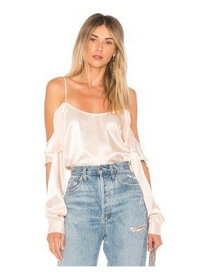 L'ACADEMIE The Open Sleeve Blouse