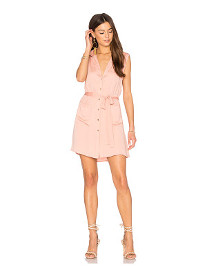 L'Academie The Sleeveless Shirt Dress