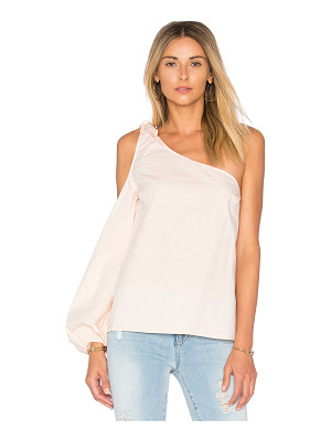 L'ACADEMIE X Revolve The Asymmetric Shoulder Blouse