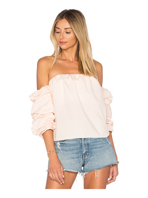 L'ACADEMIE X Revolve The Puff Sleeve Blouse