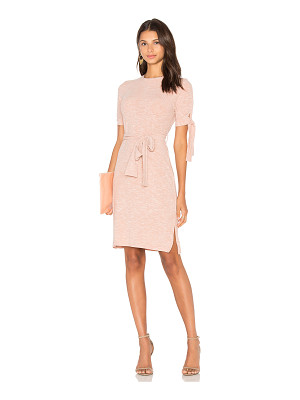 LAVISH ALICE Rib Jersey Tie Detail Dress