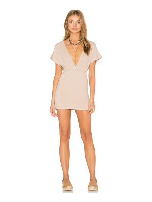 Lisakai Deep V Rib Dress