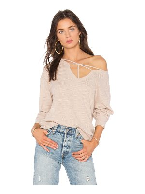 LNA Star Cross Sweater