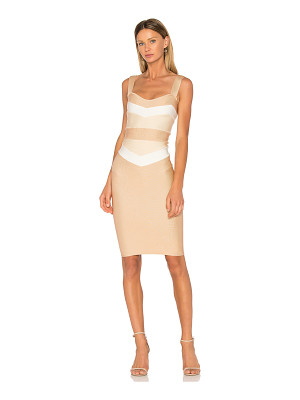 LOLITTA Estella Fitted Midi Dress