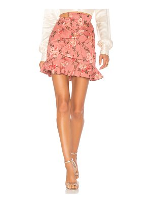 LOVERS + FRIENDS Barnes Mini Skirt