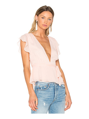 LOVERS + FRIENDS X Revolve Butterfly Blouse
