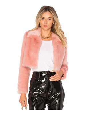 LOVERS + FRIENDS X Revolve Dixie Fur Jacket