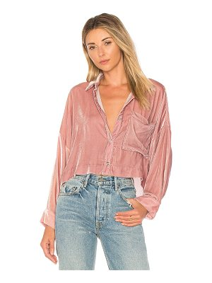 MARA HOFFMAN Inez Button Down Top