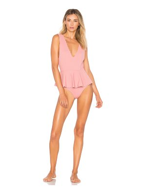 Marysia Swim Peplum Maillot One Piece