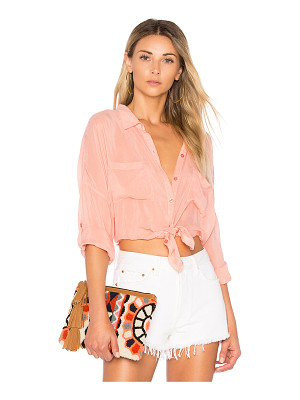 MAVEN WEST Stella Button Up
