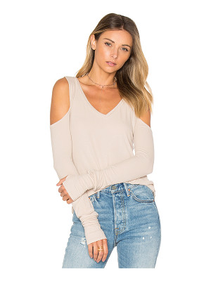 MICHAEL LAUREN Ramiro Open Shoulder Tee