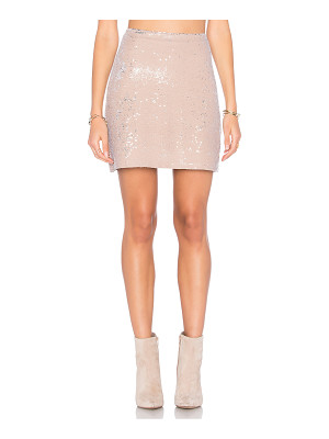 Michael Stars Sequin Mini Skirt