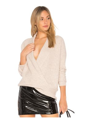 Michael Stars Shawl Collar Crossover Top