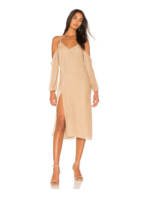 MICHELLE MASON Drop Shoulder Slip Dress