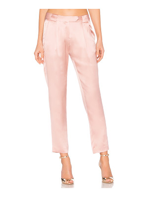 Michelle Mason Pleat Trouser