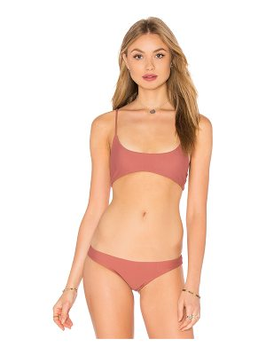 MIKOH Hermosa Scoop Top
