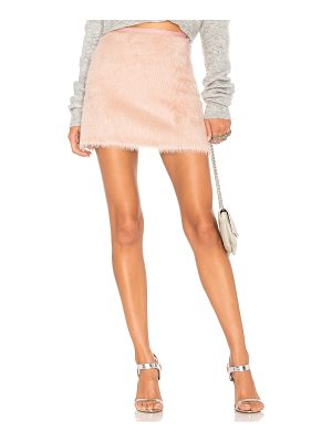 Milly Alpaca Mini Skirt