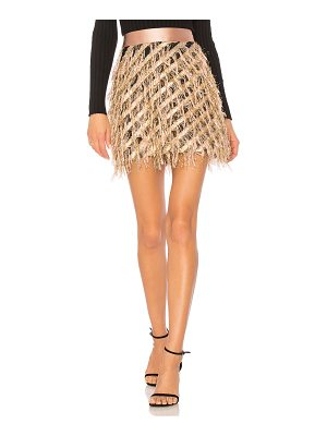 MILLY Diagonal Modern Mini Skirt