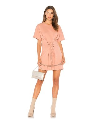 Minkpink Corset Sweat Mini Dress