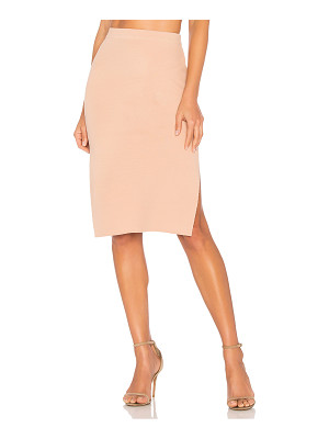 Minkpink Knitted Pencil Skirt