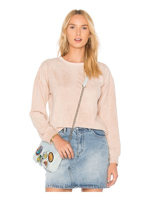 MINKPINK Suede Sweater
