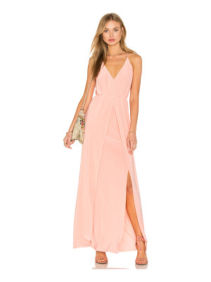 MISA LOS ANGELES Nola Double Slit Maxi Dress