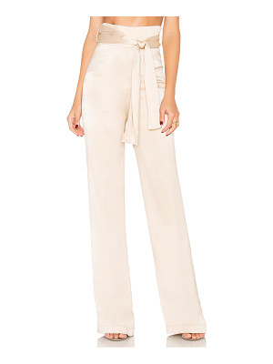 MISHA COLLECTION Flavanor Silk Pant