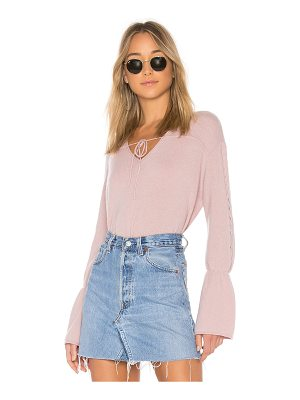 NAADAM V Neck Cropped Cashmere Sweater