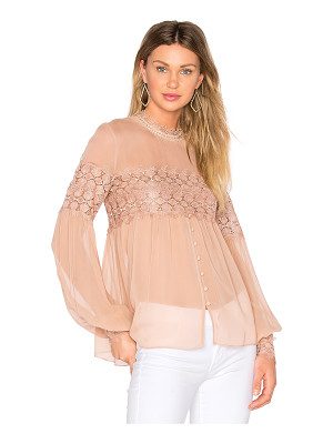 NICHOLAS Balloon Sleeve Top