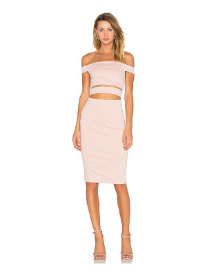 NICHOLAS Ponti Off Shoulder Strap Dress