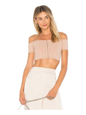 PRIVACY PLEASE X Revolve Lenda Crop Top