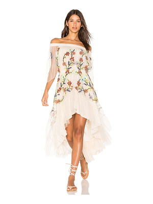 ROCOCO SAND Off the Shoulder Dress