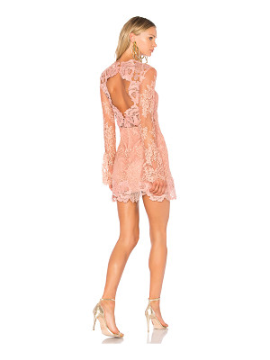 SAYLOR Leondra Lace Mini Dress