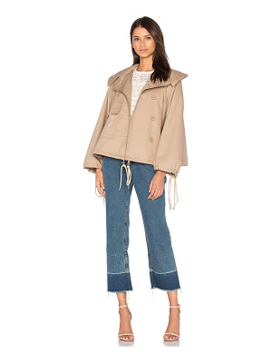 See By Chloe Short Trench Coat