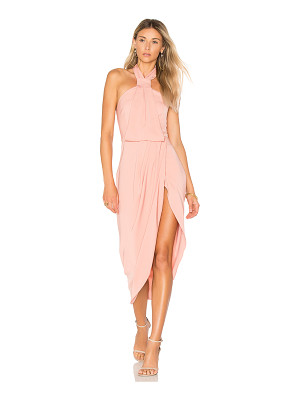 SHONA JOY Knot Draped Dress