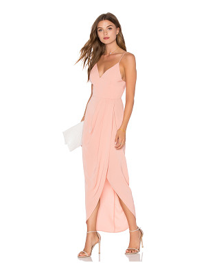 Shona Joy Cocktail Draped Dress