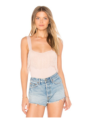 SINCERELY JULES Fringe Knit Tank
