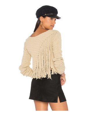 SIR the label Penelope Crochet Sweater