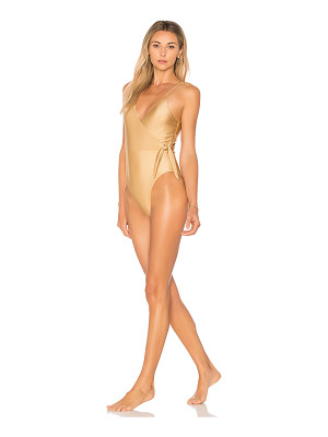 Somedays Lovin Sunspell Wrap One Piece Swimsuit