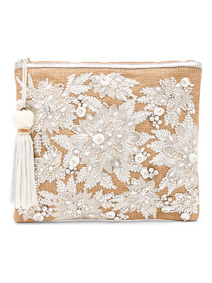 STAR MELA Mansi Embroidered Clutch