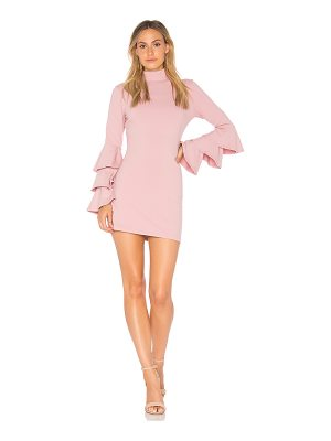 Susana Monaco Layered Ruffle Sleeve Dress