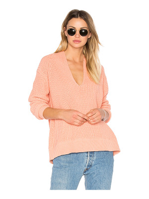 T by Alexander Wang Deep V Neck Pullover