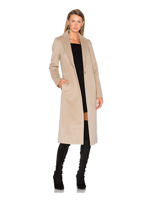 T by Alexander Wang Draped Wool Car Coat