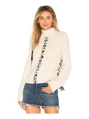 TABULA RASA Mughal Lace Up Sweater