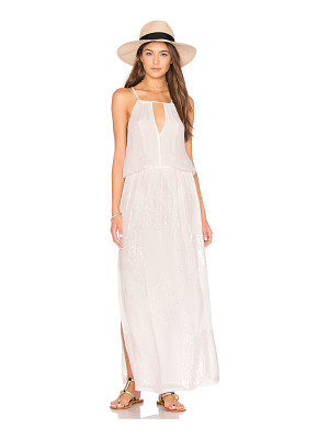 Tessora Keyhole Maxi Dress