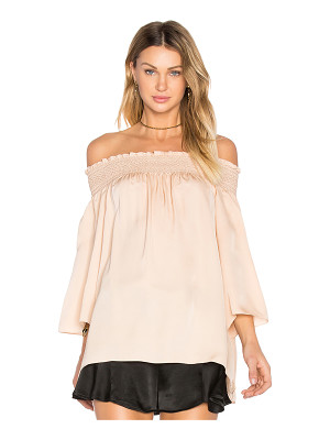 THEORY Elistaire Off The Shoulder Blouse