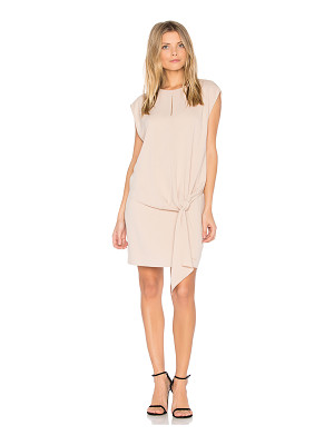 Tibi Savanna Tie Front Dress